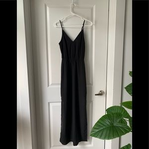 NWOT H&M Black Maxi Dress sz 2